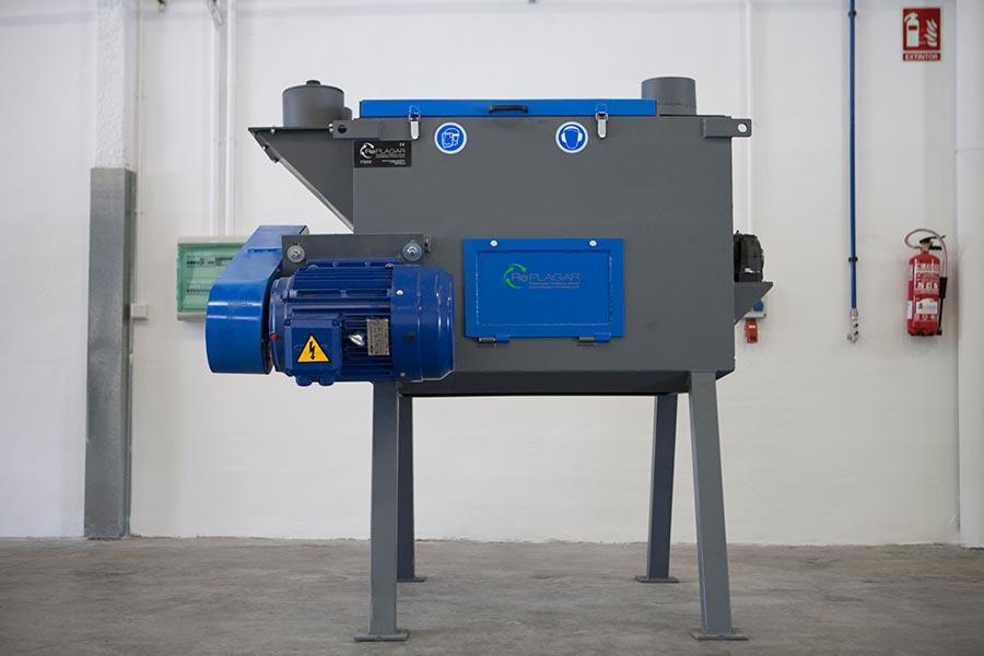 Centrifugadora separadora de líquidos y sólidos