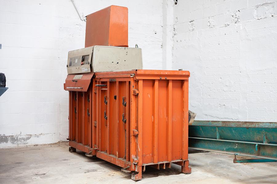 Prensa hidráulica vertical doble marca Scoiner